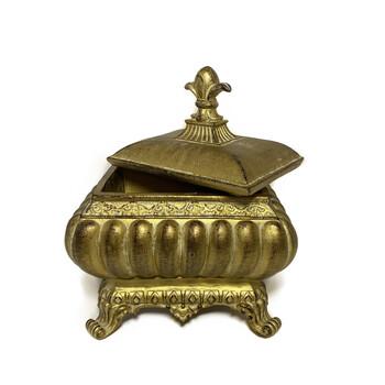 Caixa Gomada Dourado