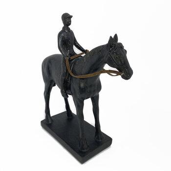 Escultura Homem No Cavalo