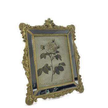 Porta  Retrato Classico Dourado 15x20