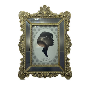 Porta Retrato Classico 10x15 Dourado