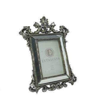 Porta Retrato Clássico 10x15 Prata