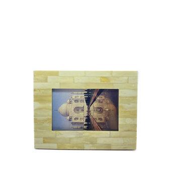 Porta Retrato de Marfim Pedaços 10x15