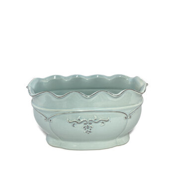 Vaso Delicate Ondule Azul P